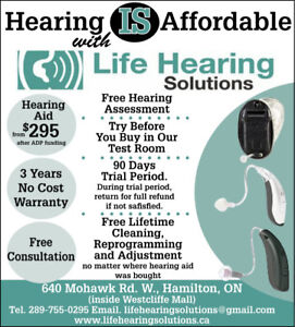 Knowing your hearing--Free hearing Test---Life Hearing Solutions