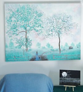 ONE of a kind - LARGE-- ORIGINAL PAINTING
