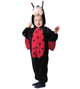 HALLOWEEN Ladybug Kids New Costume fits size T 2 3 4 5