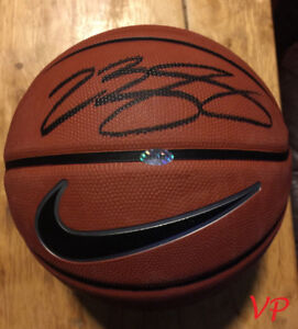 LEBRON JAMES Signed Official Nike Basketball Los Angeles Lakers