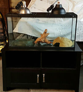 Reptile Enclosure with Stand