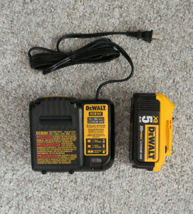 DEWALT 20V BATTERIES AND CHARGER BUNDLE