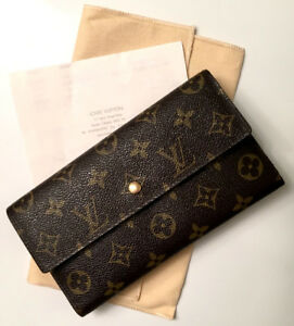AUTHENTIC LOUIS VUITTON PTI WALLET
