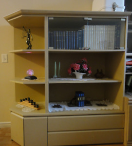 Wall-unit / Display Cabinet - Entertainment Center