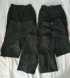 Boys grey school shorts. 7 years. Next & M&S