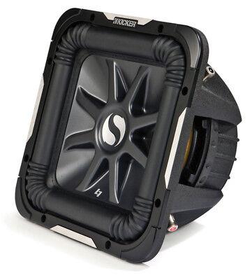 "Kicker S12L7 D4 Car Audio Square L7 12/"" 4 Ohm 1500W Stereo Subwoofer New"