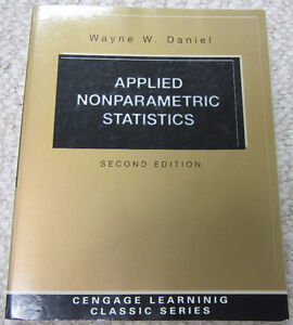 """Applied Nonparametric Statistics"" Textbook (STAT 3380 @ U of M)"