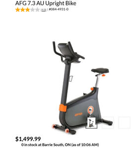 Exercise Bike Kijiji In Barrie Buy Sell Amp Save With
