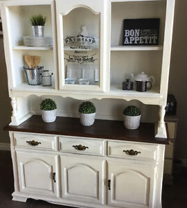 Lovely Chalk Painted Hutch