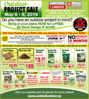 OUTDOOR PROJECT EVENT