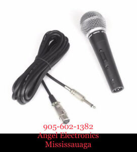 PYLE PDMIC59 PROFESSIONAL DYNAMIC MICROPHONE, UNIDIRECTIONAL MIC