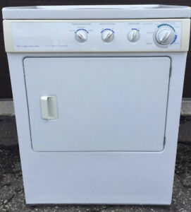 Frigidaire stacking Dryer, 220 volt, 12 month Warranty