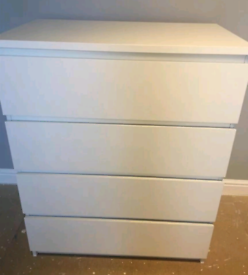Ikea chest of drawers. Good condition. Delivery available extra cost