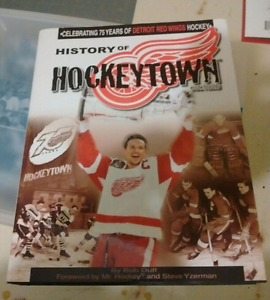 History of hockeytown signed