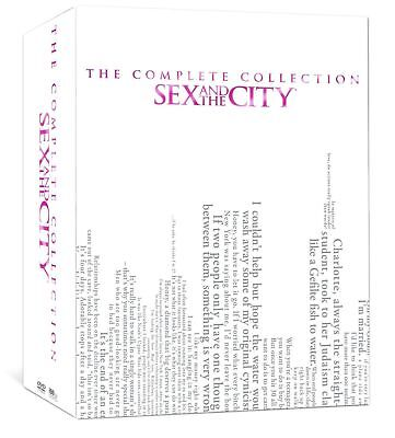 Sex And The City Complete Series Season 1 6  1 2 3 4 5   6  New 17 Disc Dvd Set