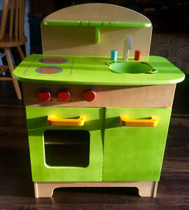 Educo wooden play kitchen