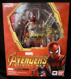 Bandai SH Figuarts Iron ・ Spider ( Avengers / Infinity War)
