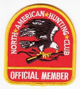 NORTH-AMERICAN-HUNTING-CLUB-OFFICIAL-MEMBER-Vintage-PATCH
