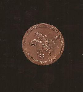 Large Size US Medal _ National Pony Express Centennial Associati