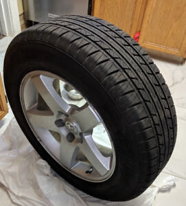 4 Fuzion Touring All Season Tires 215/65 R17 with DODGE Rims