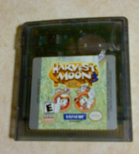 Harvest Moon 3 for Gameboy Color and Gameboy Advance