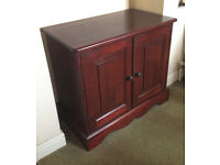 Small Stained Pine Sideboard