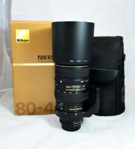 Nikon AF VR Zoom-NIKKOR 80-400mm f4.5-5.6D ED