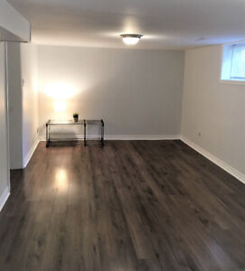 Fully Renovated Basement 1 Bedroom + Den With Parking