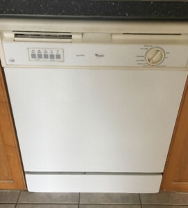 Whirlpool Dishwasher lightly used