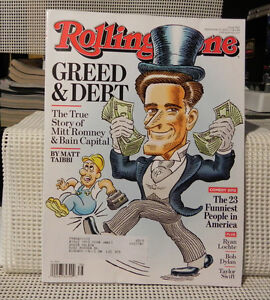 RS Mag - Greed & Debt - The Story of Mitt Romney & Bain Capital