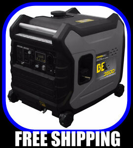 FREE SHIPPING, 3500 watt INVERTER GENERATORs, quiet, elec.start