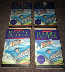 Harry Potter Books Hard Cover with without Dust Jackets $5 andup