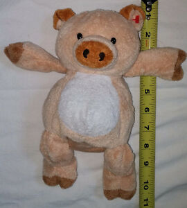 Plush TY Beanie Baby Brown Pig Toy