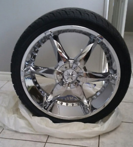 """Rims and Tires 24"""""""