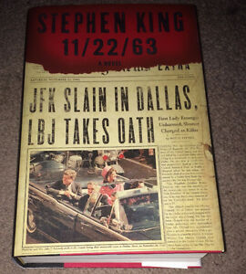 Stephen King Hard Cover Book 11/22/63 ~ Like New...