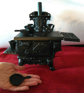 Miniature Antique Cook Stove