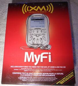 XM2go MyFi Personal XM Satellite Radio Receiver (SA10280) Delphi