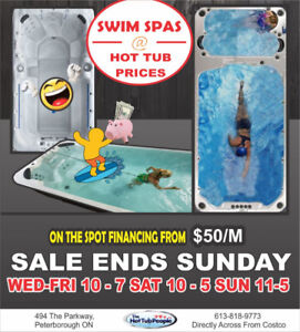 CRAZY Swimspa Clearance- BEST DEALS - ONE WEEKEND - PERIOD