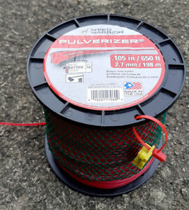 Spool of Trimmer Line - 0.105 (Weed Warrior brand)