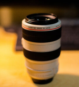 Canon 70-300mm F4-5.6 IS L lens Kitchener / Waterloo Kitchener Area image 1