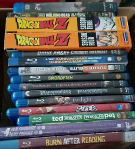 Blurays. Take the box for 30.