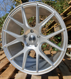 "NEW 19"" DCS 2 STAGGERED ALLOY WHEELS 5X120 BMW INSIGNIA ETC"
