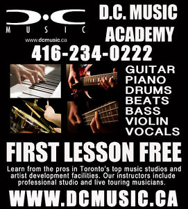 Best Music Lessons and School in Etobicoke! Learn From the Pros