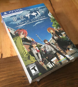 NEW SEALED Tokyo Xanadu - Limited Edition - PS Vita (80$ new)