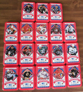 NHL Hockey Collectable Tins