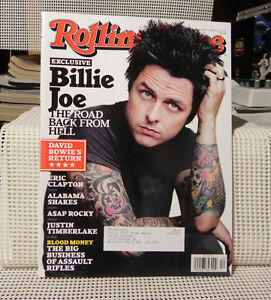 RS Mag - Billie Joe - Green Day - #1178 - March 2013