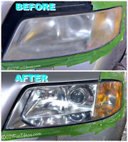 Vehicle Headlight Restoration CHEAP ONLY $50!!!