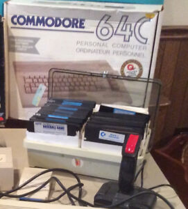 Commodore 64 Working - w/ Disk Drive/Printer/Modem/100+ games