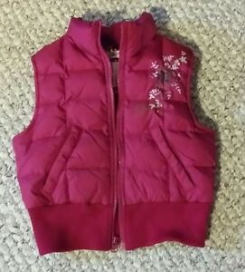 Size 5 Girls Down Filled Vest