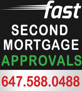 Second Mortgage / 2nd / Home Equity Loans / Private Mortgages!